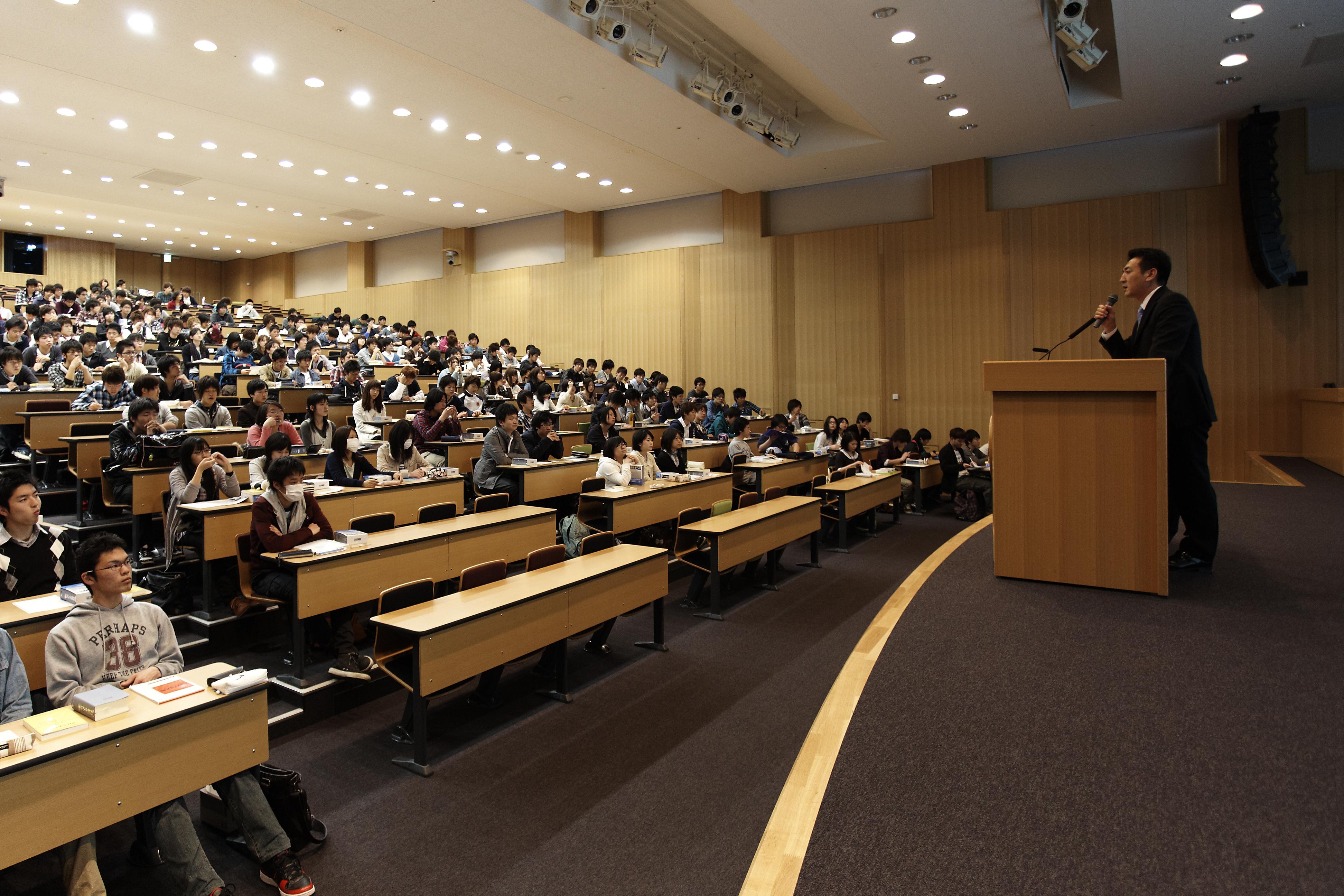 高野一彦の授業風景